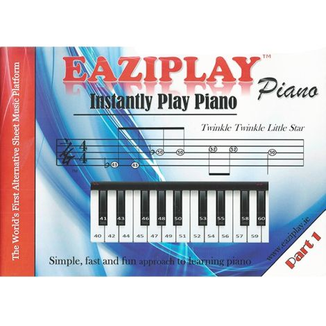 EAZIPLAY PIANO PART 1