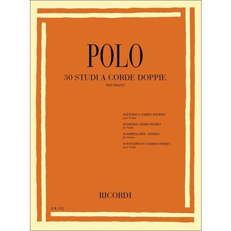 Polo: 30 Studi a Corde doppie (Violin Solo)