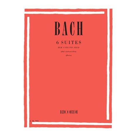6 Cello Suites - Violin Solo
