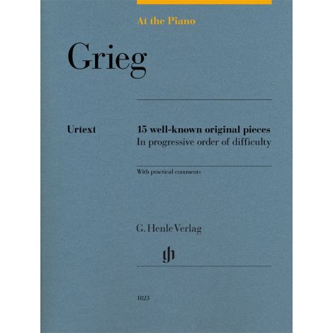 At The Piano - Grieg