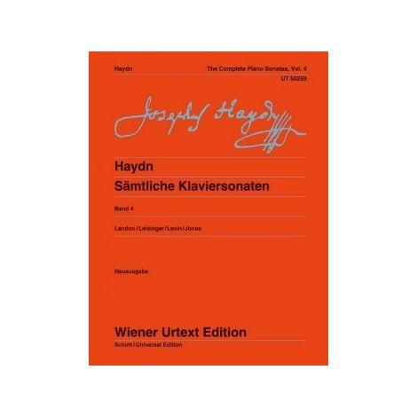Haydn: The Complete Piano Sonatas, Vol. 4