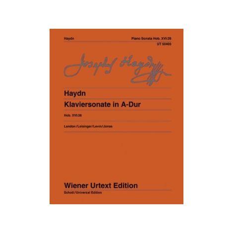 Haydn: Piano Sonata in A Major, XVI:26