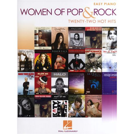 Women Of Pop And Rock: Easy Piano - 22 Hot Hits
