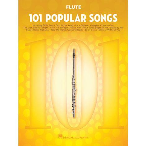 101 POPULAR SONGS: FLUTE SOLO