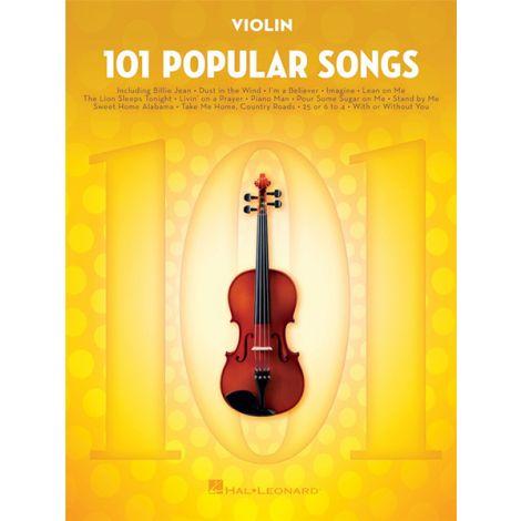101 POPULAR SONGS: VIOLIN