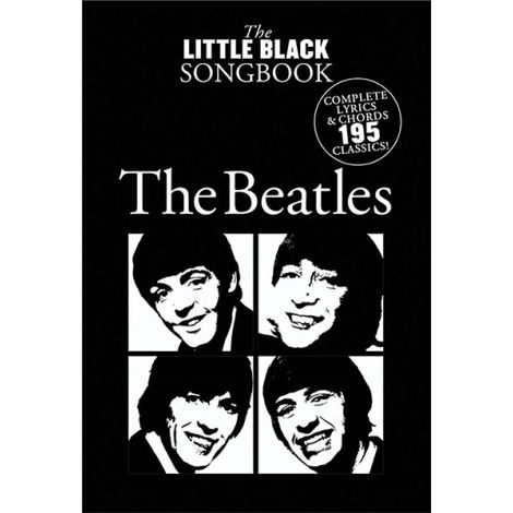 THE LITTLE BLACK SONGBOOK THE BEATLES LC HL00242081