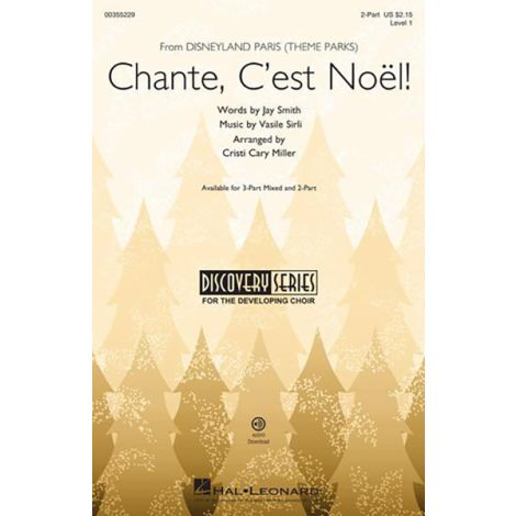 Jay Smith: Chante, C'est Noel (from Disneyland Theme Parks) Discovery Level 1