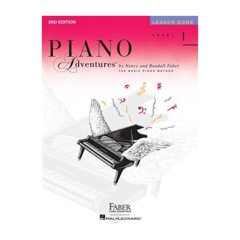 Faber Piano Adventures: Level 1 - Lesson Book (2nd Edition)