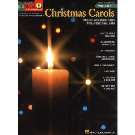 Pro Vocal Volume 7: Christmas Carols
