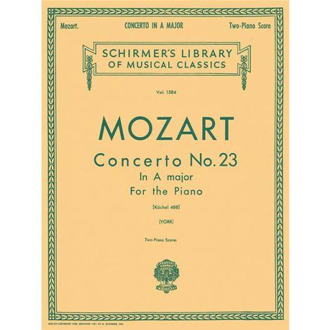 Wolfgang Amadeus Mozart: Piano Concerto No.23 In A Major