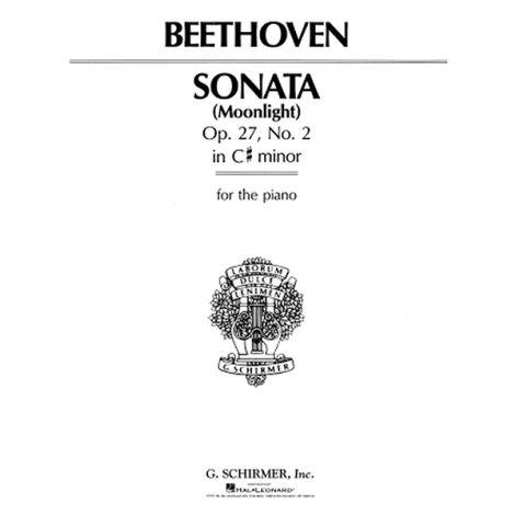 Beethoven: Piano Sonata In C Sharp Minor Op.27 No. 2 'Moonlight'