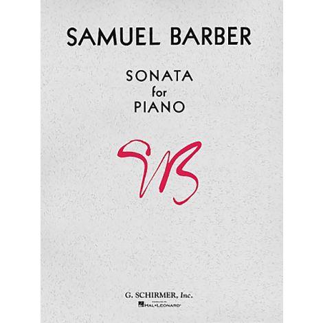 SAMUEL BARBER: SONATA FOR PIANO: PIANO SOLO