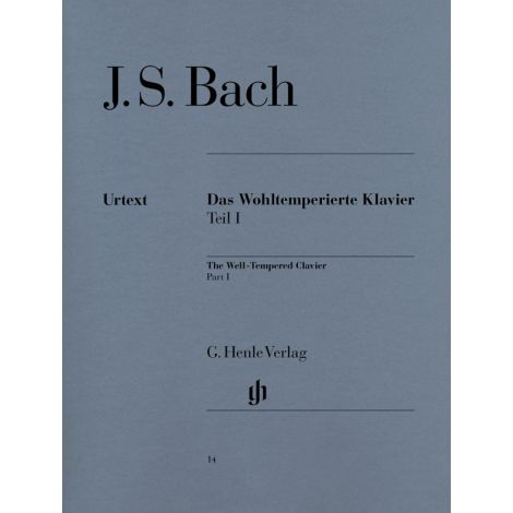Bach: The Well-Tempered Clavier Part 1 (Das Wohltemperierte Klavier) (Henle Urtext)