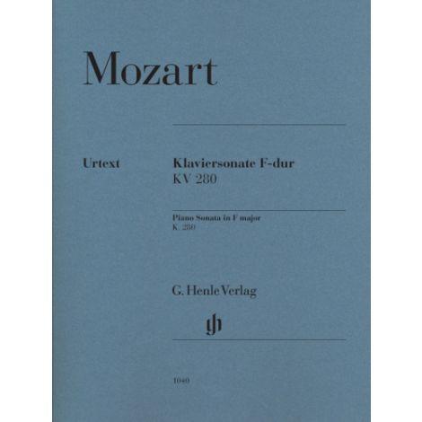 Mozart Piano Sonata in F major K280 (189E) (Henle Urtext)
