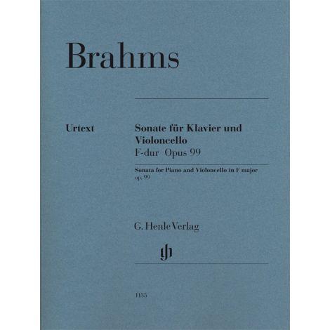 Brahms: Violoncello Sonata F major op. 99 (Henle Urtext)