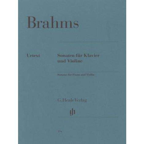 Johannes Brahms: Violin Sonatas (Henle Urtext)