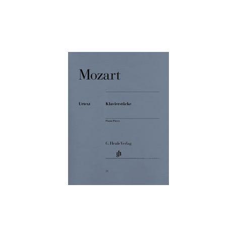 Mozart Piano Pieces (Henle Urtext)