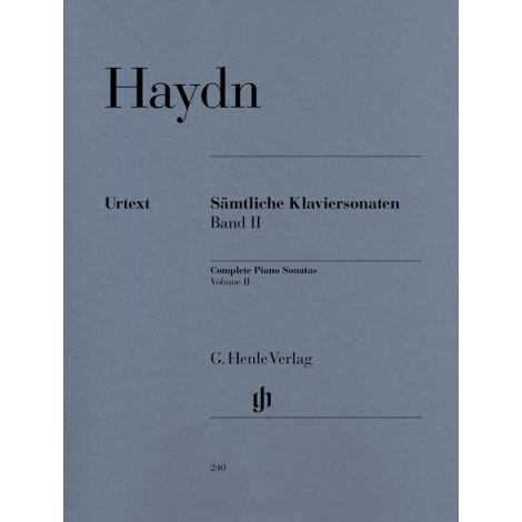 Haydn: Complete Piano Sonatas Volume II (Henle Urtext)