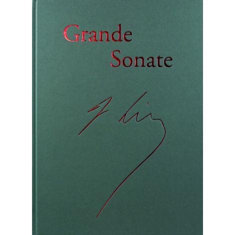Liszt Piano Sonata in B Minor Hardcover Facsimile of the Autograph