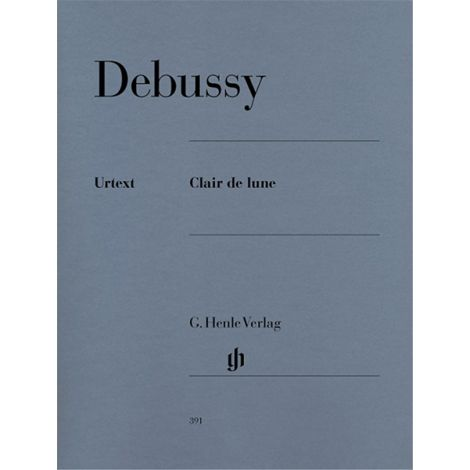 Claude Debussy: Clair De Lune (Henle Urtext)