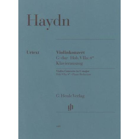 Franz Joseph Haydn: Violin Concerto In G (With Piano Reduction) (Henle Urtext)