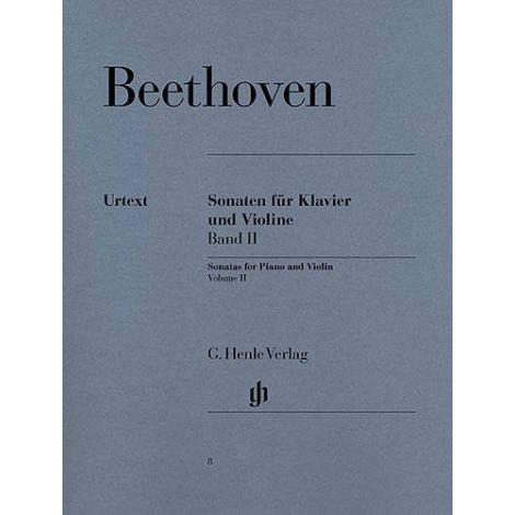 Ludwig Van Beethoven: Violin Sonatas - Volume 2 (Henle Urtext)