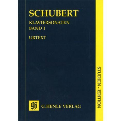 Schubert: Piano sonatas Volume 1 (Study Score) (Henle Urtext)