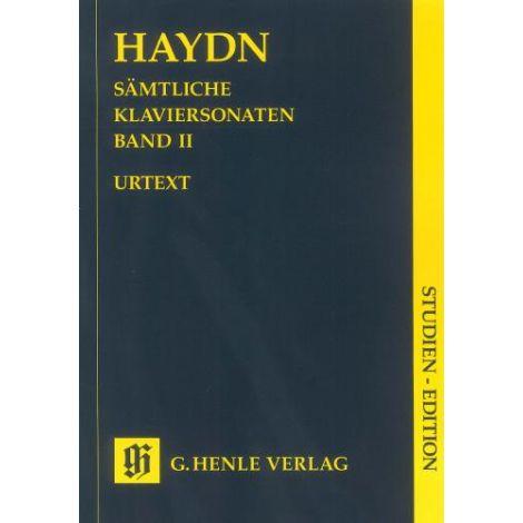 Haydn: Complete piano sonatas Volume 2 (Study Score) (Henle Urtext)