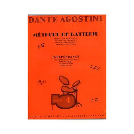 Dante Agostini: M闂佽偐鍘у畵鎻緊de de Batterie: Ind闂佽偐鍘у畵鍗恘dance - Volume 4