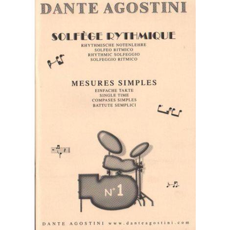 Dante Agostini: Solfege Rythmique - Volume 1