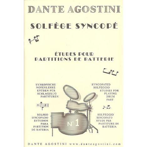Dante Agostini: Solf闂佺粯姘ㄧ敮鐮 Syncop闂 - Syncopated Solfeggio - No.1
