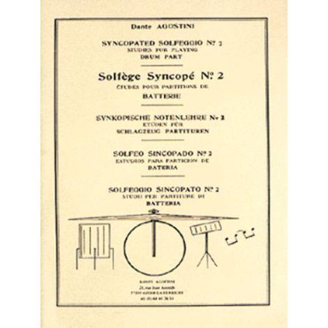 Dante Agostini: Solfege Syncope No.2 Drums