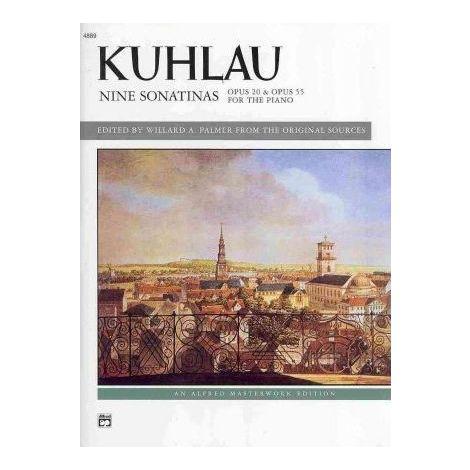 Kuhlau: Nine Sonatinas Opp.20 & 55 (piano) (Piano Solo)