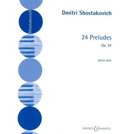Dmitri Shostakovich: 24 Preludes Op 34