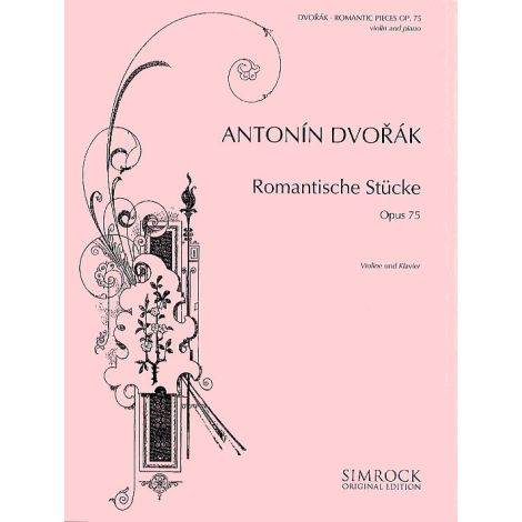 Dvorak Romantic Pieces Op 75