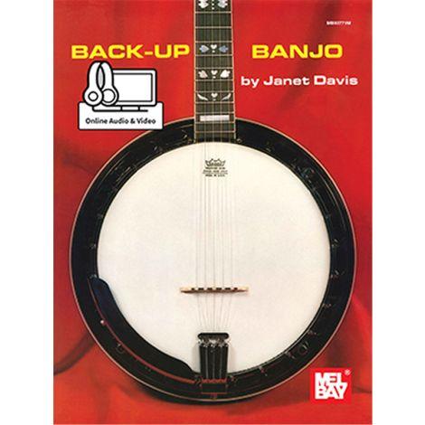 Janet Davis: Back-Up Banjo (Book/Online Audio)