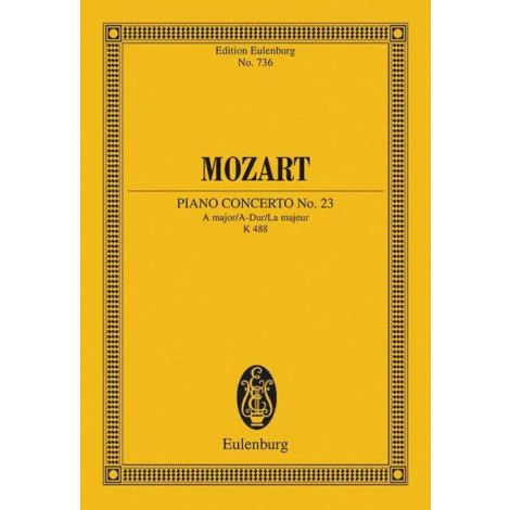 Mozart Piano Concerto No.23 in A major K488 (Study Score)