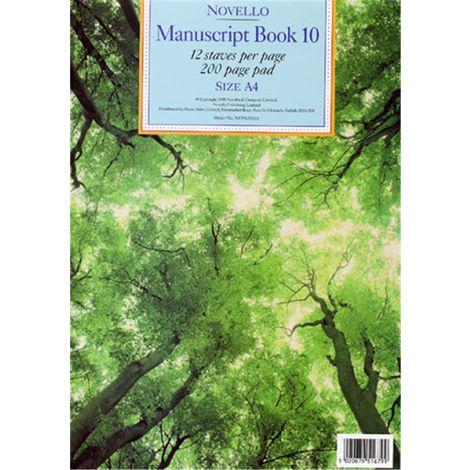 Novello Manuscript Book 10 200 page