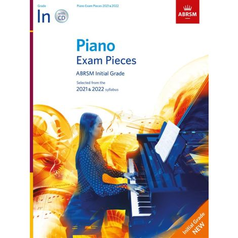 ABRSM Piano Exam Pieces 2021 & 2022 - Initial + CD