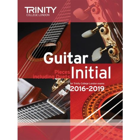 TCL Trinity College London Guitar Exam Pieces Initial 2016-2019