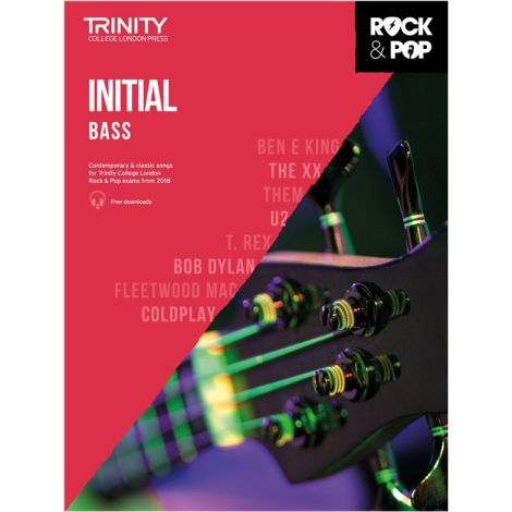 TCL TRINITY COLLEGE LONDON ROCK POP 2018 BASS INITIAL