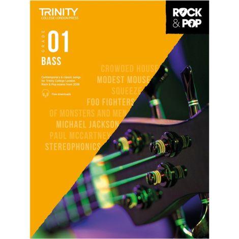 TCL TRINITY COLLEGE LONDON ROCK POP 2018 BASS Grade 1