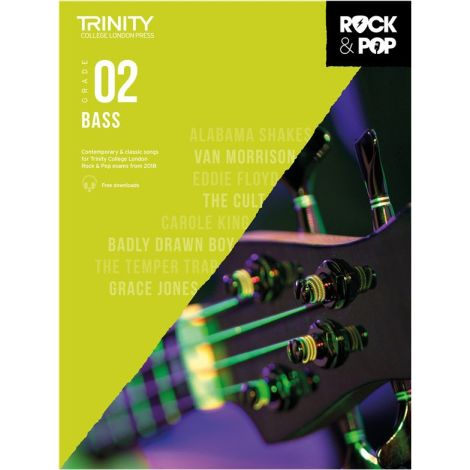 TCL TRINITY COLLEGE LONDON ROCK POP 2018 BASS Grade 2
