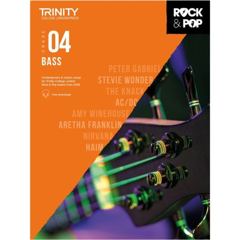 TCL TRINITY COLLEGE LONDON ROCK POP 2018 BASS Grade 4