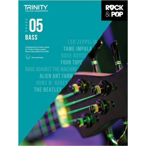 TCL TRINITY COLLEGE LONDON ROCK POP 2018 BASS Grade 5