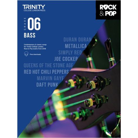 TCL TRINITY COLLEGE LONDON ROCK POP 2018 BASS Grade 6