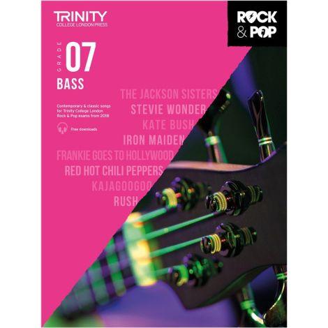 TCL TRINITY COLLEGE LONDON ROCK POP 2018 BASS Grade 7