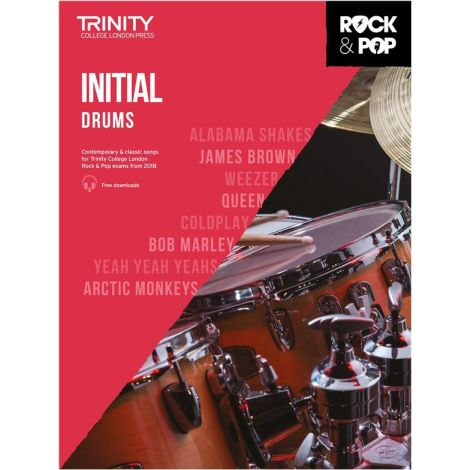 TCL TRINITY COLLEGE LONDON ROCK POP 2018 DRUMS INITIAL