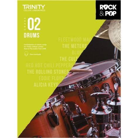 TCL TRINITY COLLEGE LONDON ROCK POP 2018 DRUMS Grade 2