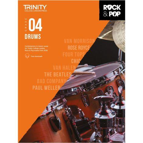 TCL TRINITY COLLEGE LONDON ROCK POP 2018 DRUMS Grade 4